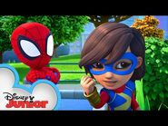 Monkeying Around - Marvel's Spidey and His Amazing Friends - @Disney Junior @Marvel HQ