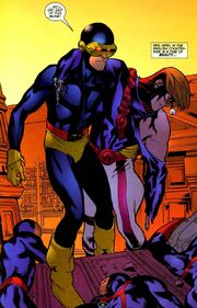 Scott Summers (Earth-7642) and Yohn Kohl (Earth-7642) from WildC.A.T.s X-Men Vol 1 The Modern Age 001.jpg