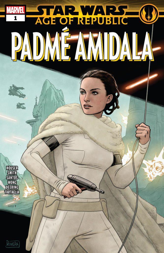 Star Wars: Age of Republic - Padmé Amidala Vol 1 1