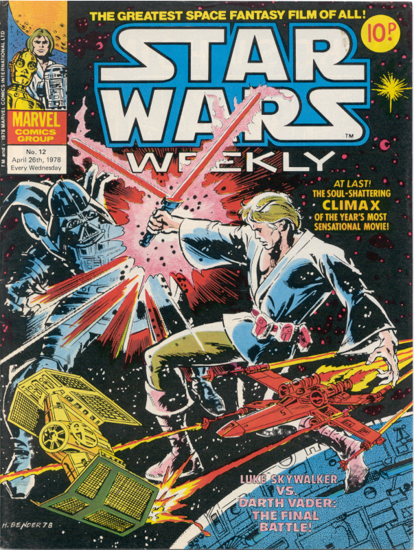 Star Wars Weekly (UK) Vol 1 12