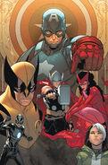 Uncanny Avengers Vol 1 1 Pichelli Variant Textless
