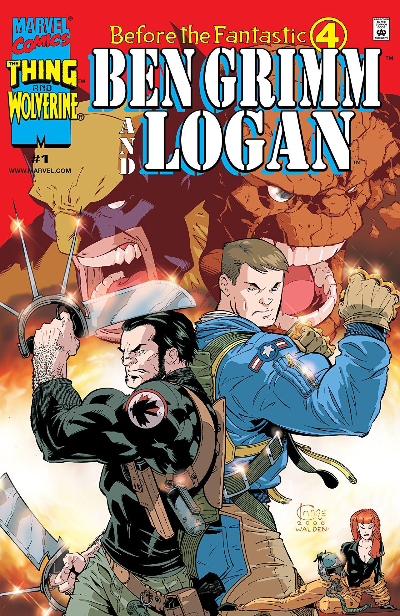 Before the Fantastic Four: Ben Grimm and Logan Vol 1 1