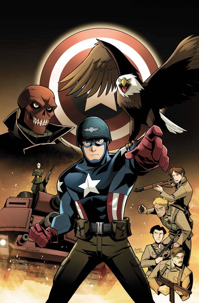 Captain America The Fighting Avenger Vol 1 1 Textless Gurihiru Variant.jpg