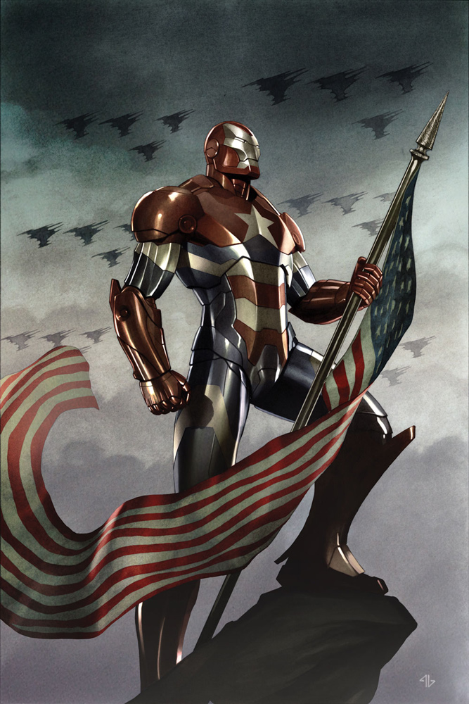 Dark Avengers Vol 1 1 Granov Variant Textless.jpg