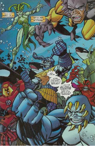 Deep Six (Attuma) (Earth-616)/Gallery