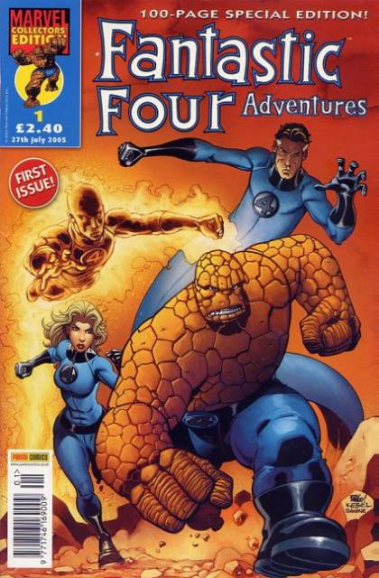 Fantastic Four Adventures Vol 1