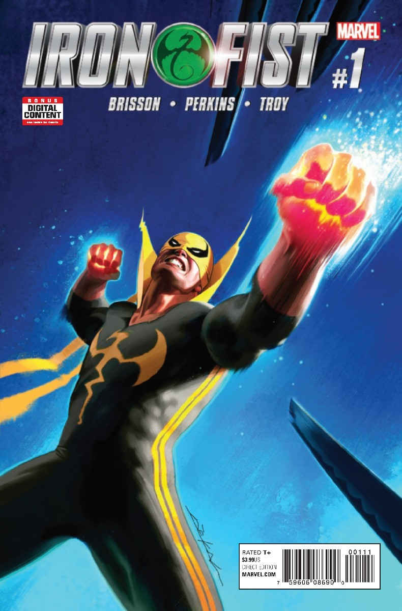 Iron Fist Vol 5 1