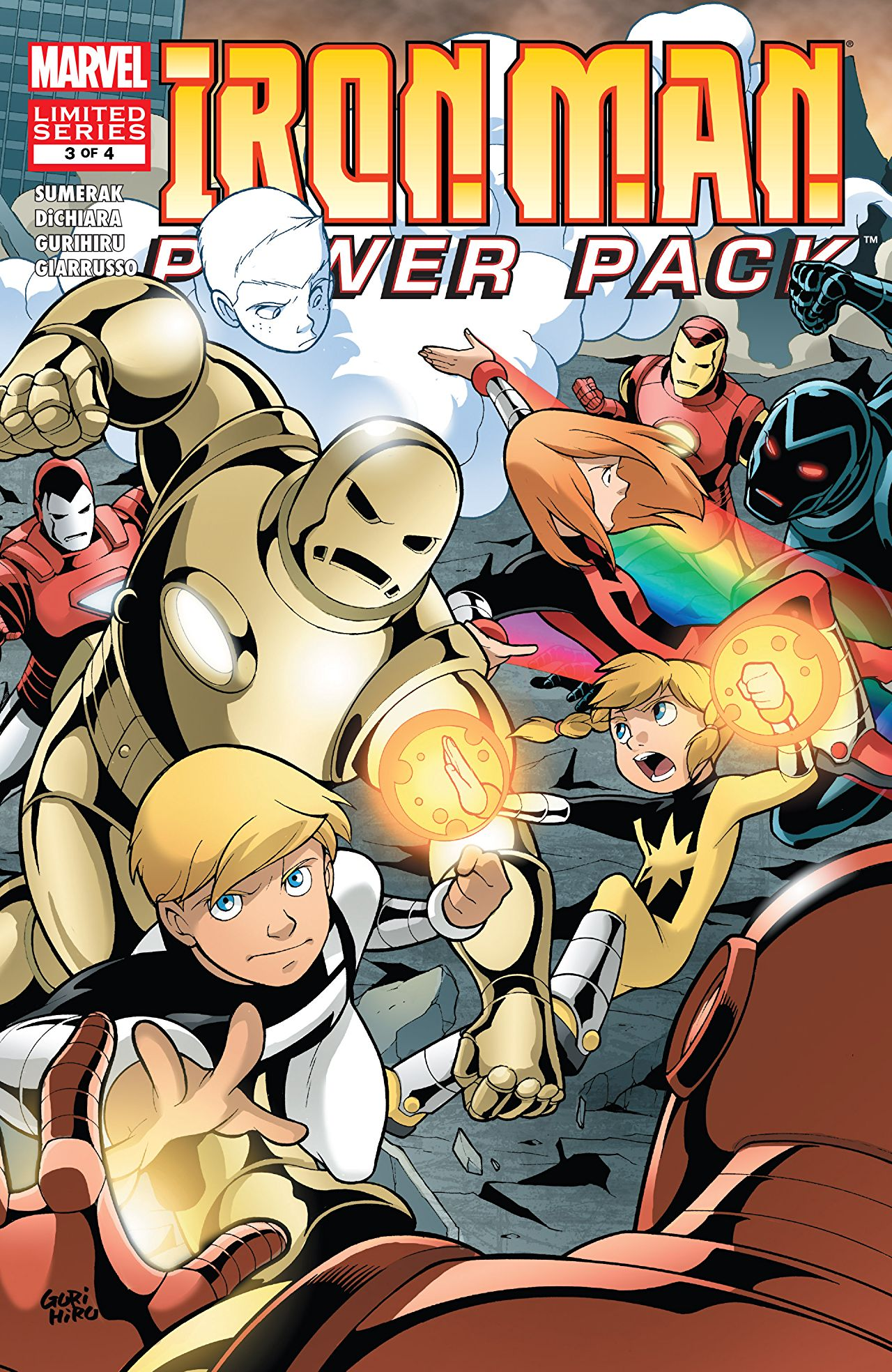 Iron Man and Power Pack Vol 1 3
