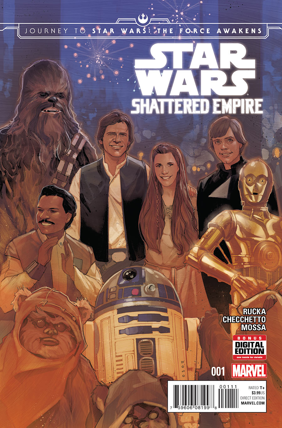 Journey to Star Wars: The Force Awakens - Shattered Empire Vol 1 1