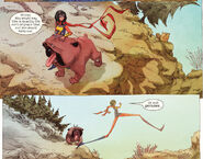Kamala Khan (Earth-616) and Lockjaw (Earth-616) from Ms. Marvel Vol 3 8 001