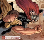 Marcus Milton (Earth-13034) and Thor Odinson (Earth-616) from Avengers Vol 5 16 001