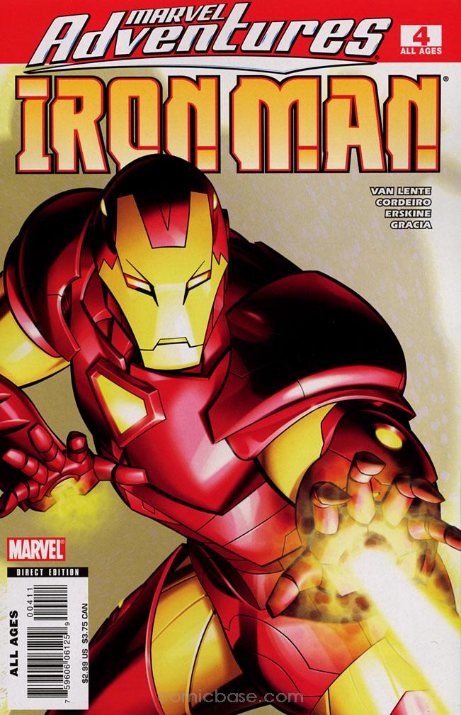 Marvel Adventures: Iron Man Vol 1 4
