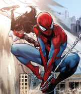 Peter Parker (Earth-616) and Cindy Moon (Earth-616) from Amazing Spider-Man Vol 3 9 002