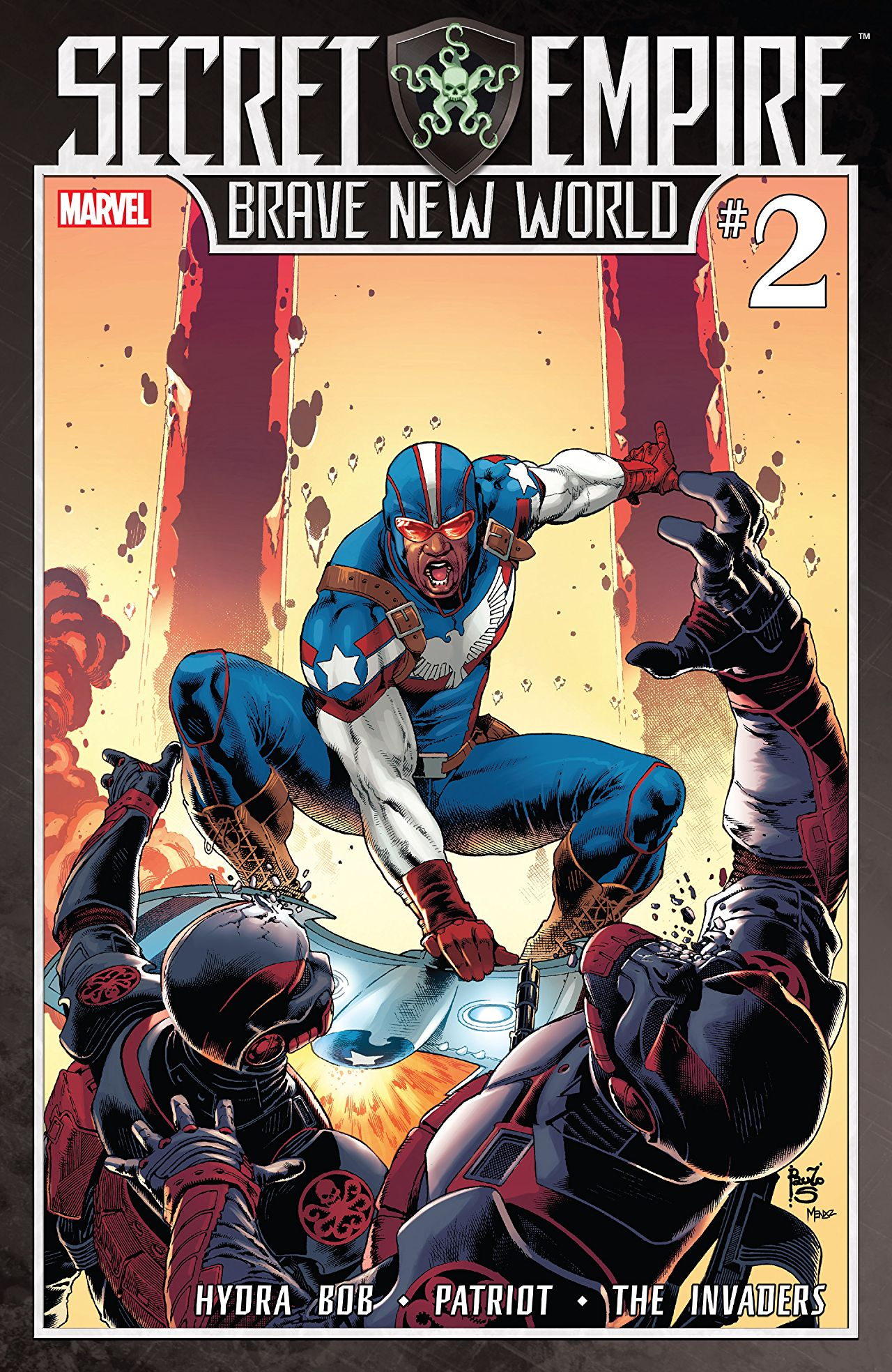 Secret Empire: Brave New World Vol 1 2