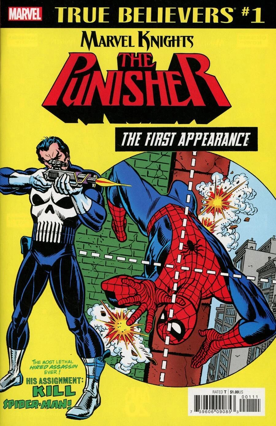 True Believers: Marvel Knights 20th Anniversary - Punisher: The First Appearance Vol 1
