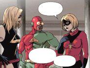 Tsu-Zana (Earth-616), Carol Danvers (Earth-616) and Delroy Garrett Jr. (Earth-616) from Avengers The Initiative Vol 1 12 001