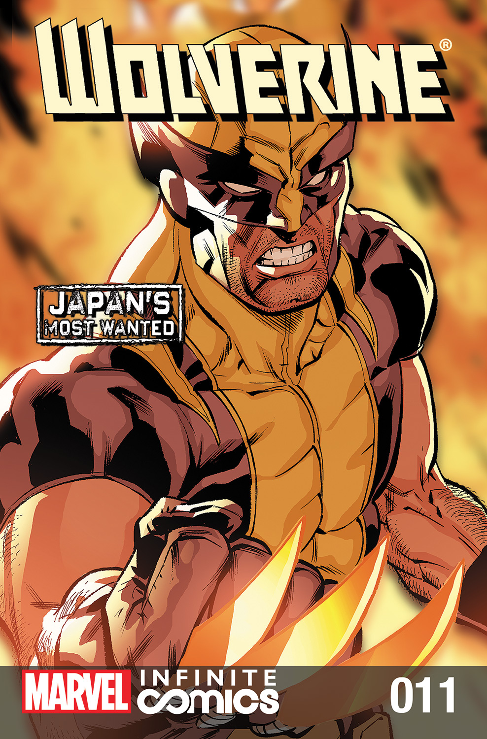 Wolverine: Japan's Most Wanted: Infinite Comic Vol 1 11