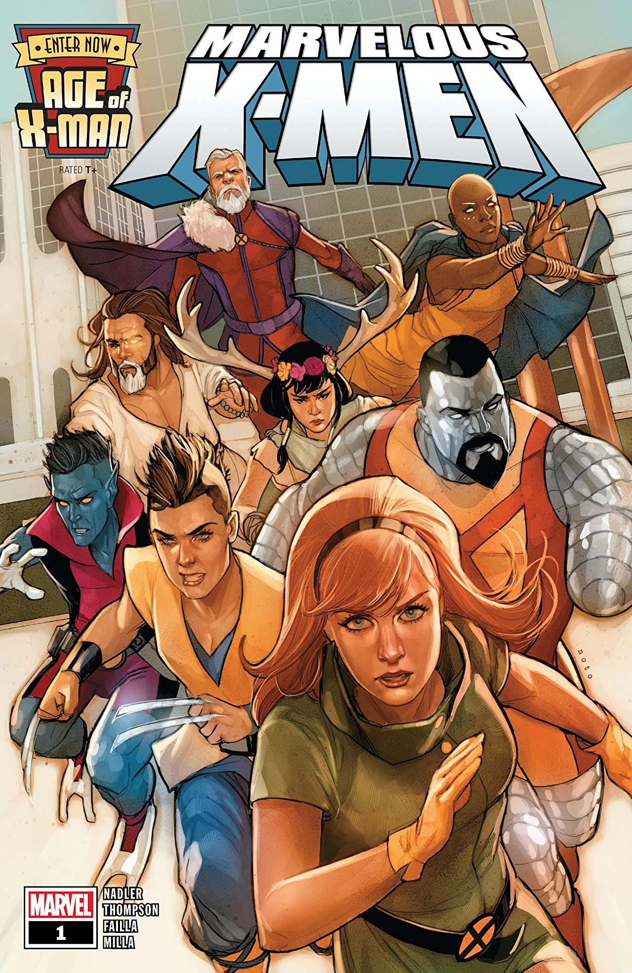 Age of X-Man: The Marvelous X-Men Vol 1 1