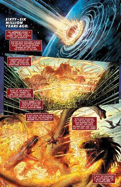 Cretaceous–Paleogene Extinction Event from Avengers Vol 8 26 001.jpg