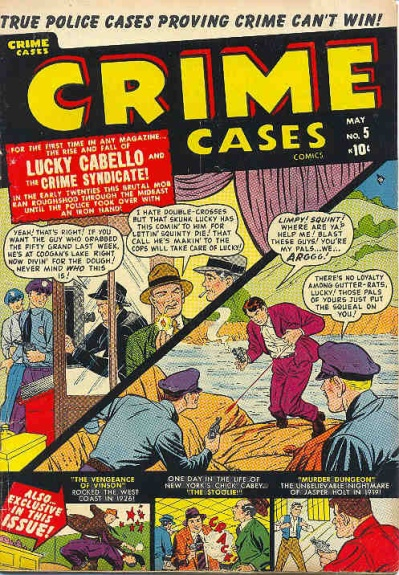 Crime Cases Comics Vol 1