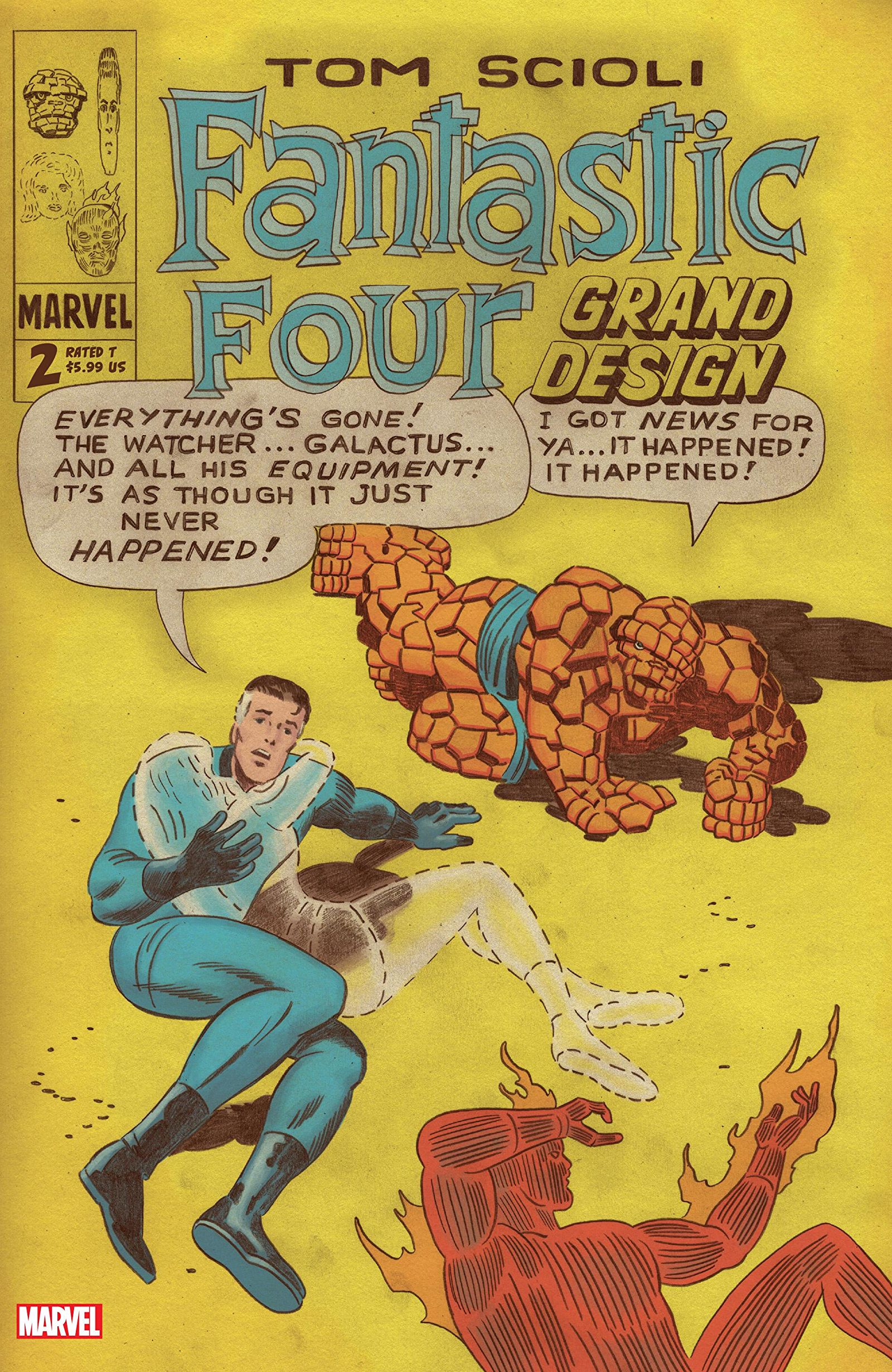 Fantastic Four: Grand Design Vol 1 2