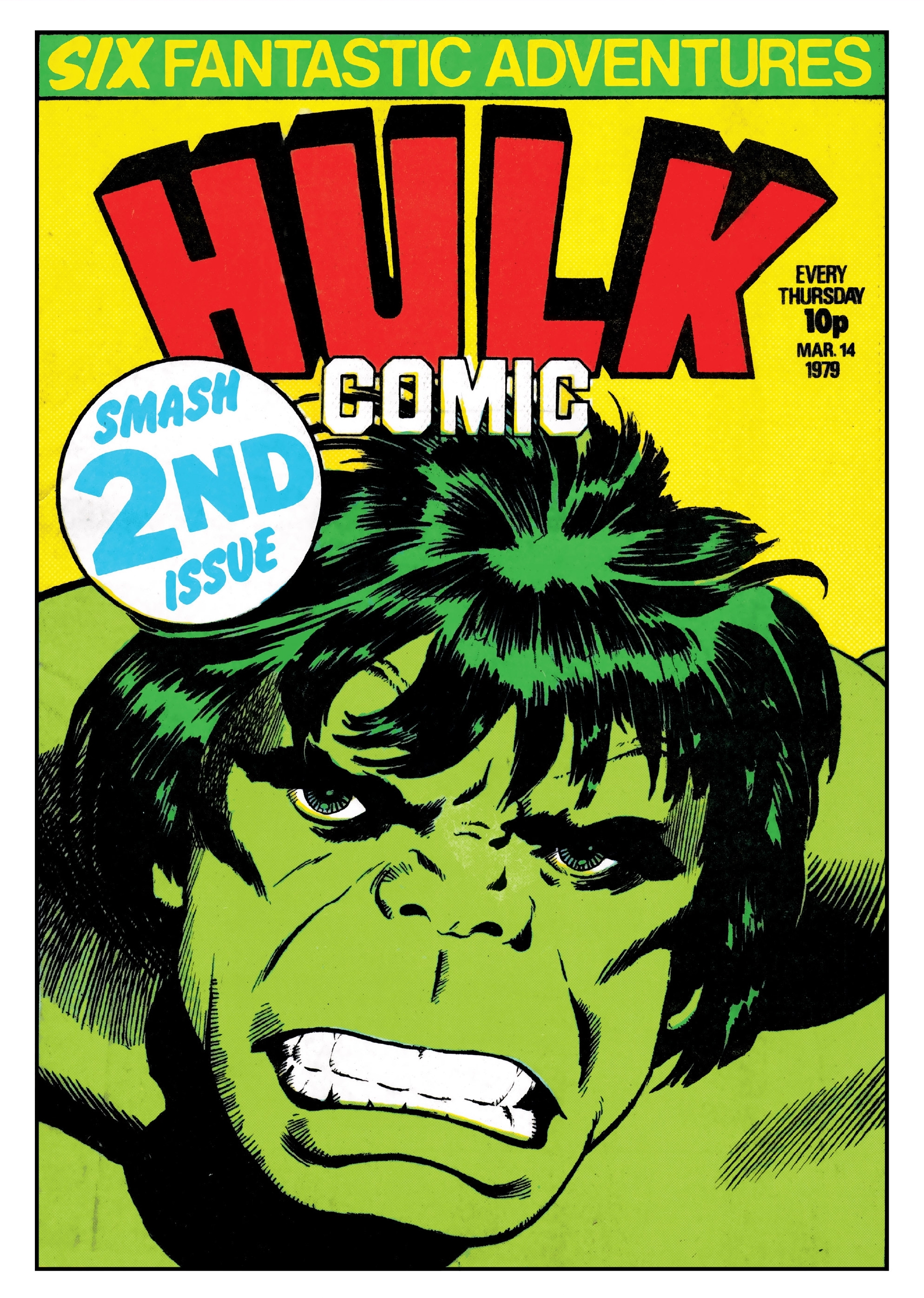 Hulk Comic (UK) Vol 1 2