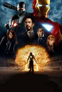 Iron Man 2 poster 001 textless