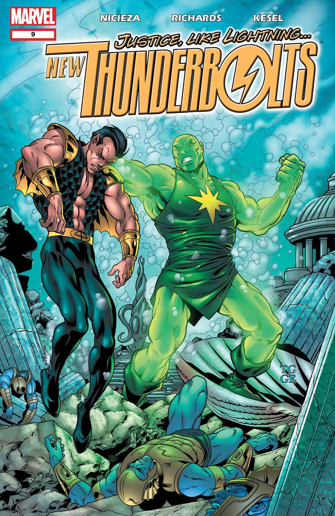 New Thunderbolts Vol 1 9
