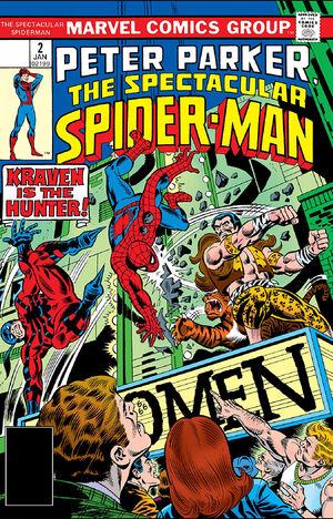 Peter Parker, The Spectacular Spider-Man Vol 1 2.jpg