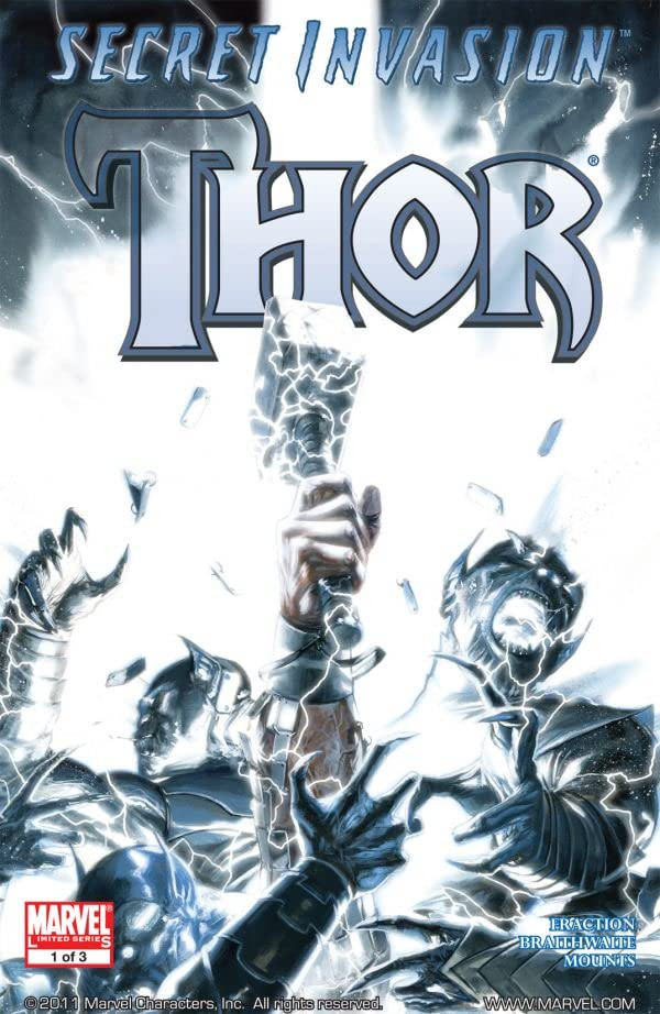 Secret Invasion: Thor Vol 1 1