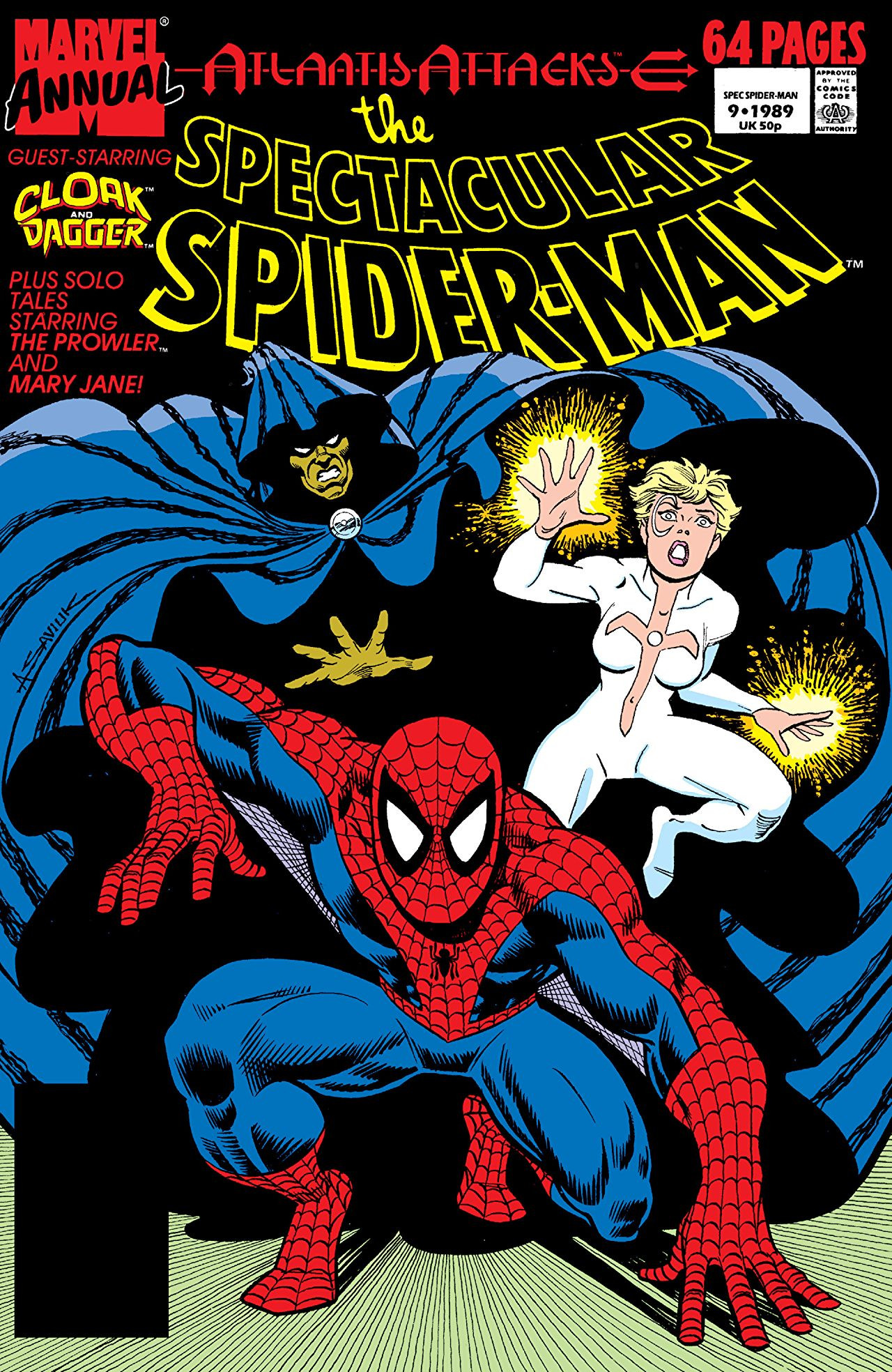 Spectacular Spider-Man Annual Vol 1 9