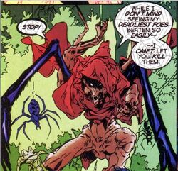 Webslinger (Eurth) (Earth-616) from Avataars Covenant of the Shield Vol 1 2 0001.jpg