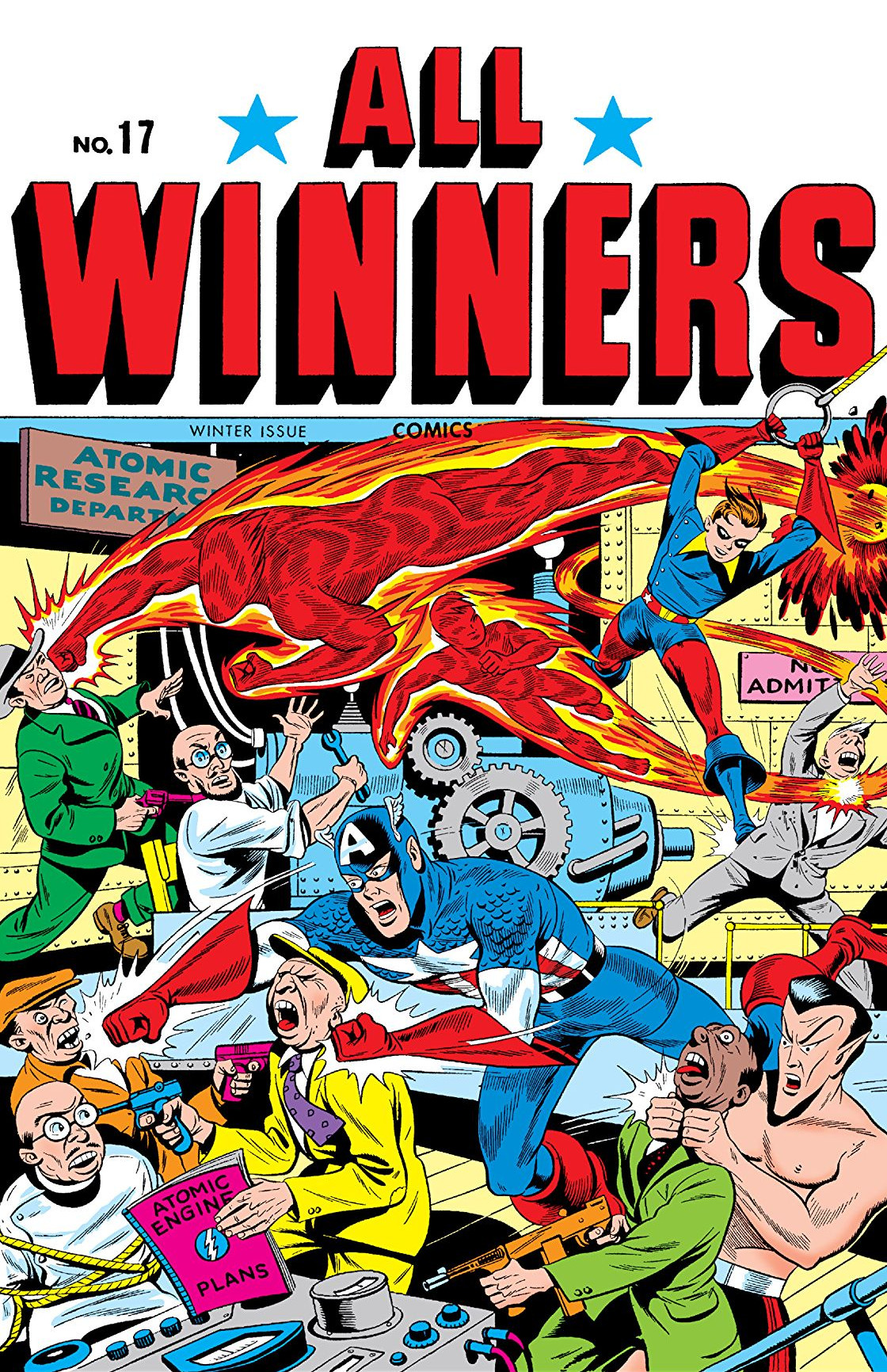 All Winners Comics Vol 1 17