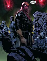 High Council of Hydra (Earth-616) and Samuel Wilson (Earth-616) from All-New Captain America Vol 1 1 001.jpg