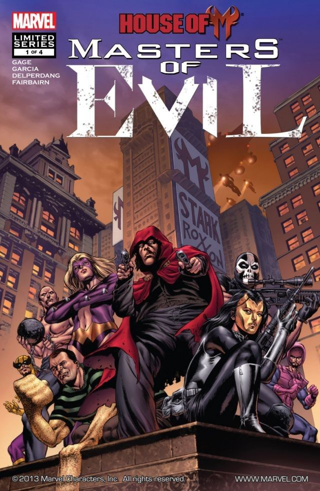 House of M: Masters of Evil Vol 1 1