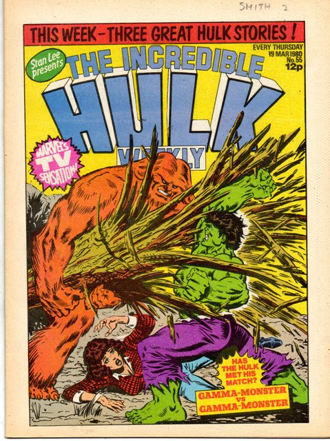 Hulk Comic (UK) Vol 1 55