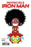 Invincible Iron Man Vol 4 1 Young Variant
