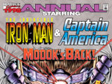 Iron Man & Captain America Annual Vol 1 1998