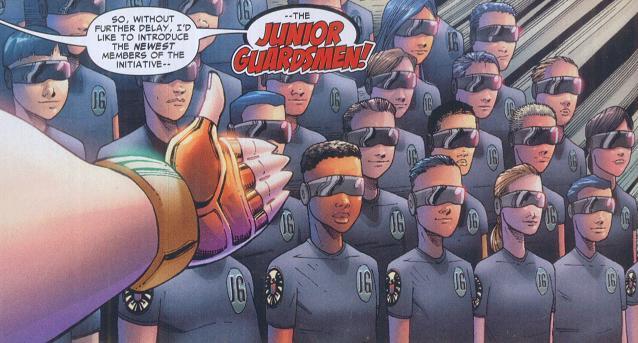 Junior Guardsmen (Earth-616)