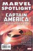 Marvel Spotlight Captain America Remembered Vol 1 1