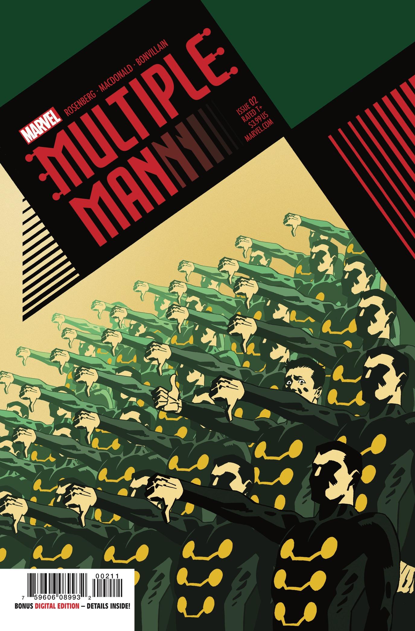 Multiple Man Vol 1 2
