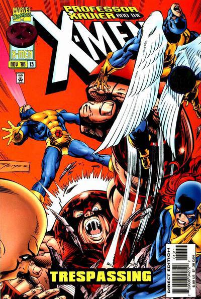 Professor Xavier and the X-Men Vol 1 13