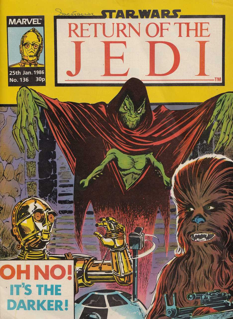 Return of the Jedi Weekly (UK) Vol 1 136