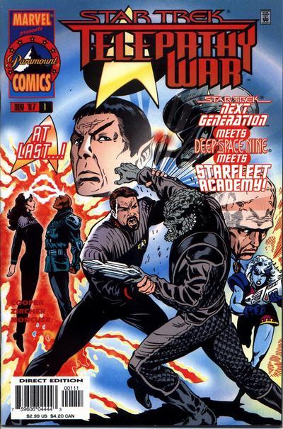 Star Trek: Telepathy War Vol 1 1