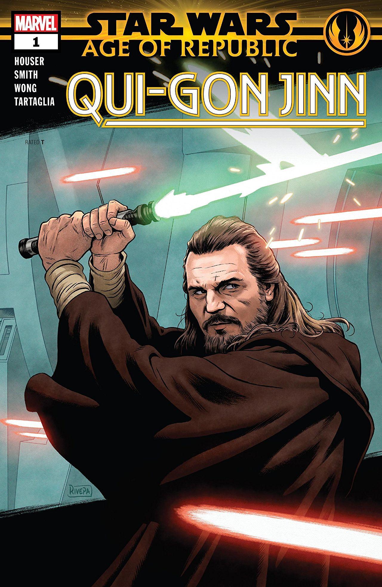 Star Wars: Age of Republic - Qui-Gon Jinn Vol 1 1