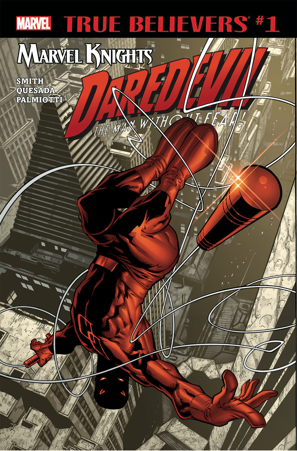 True Believers: Marvel Knights 20th Anniversary - Daredevil by Smith, Quesada & Palmiotti Vol 1