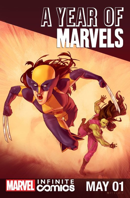 Year of Marvels: May Infinite Comic Vol 1 1