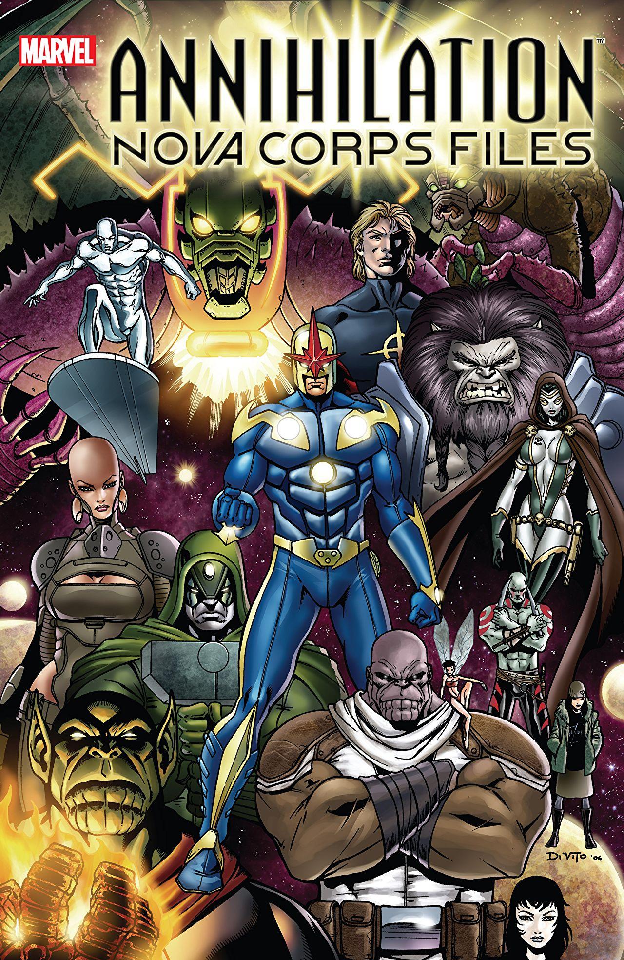 Annihilation: The Nova Corps Files Vol 1 1