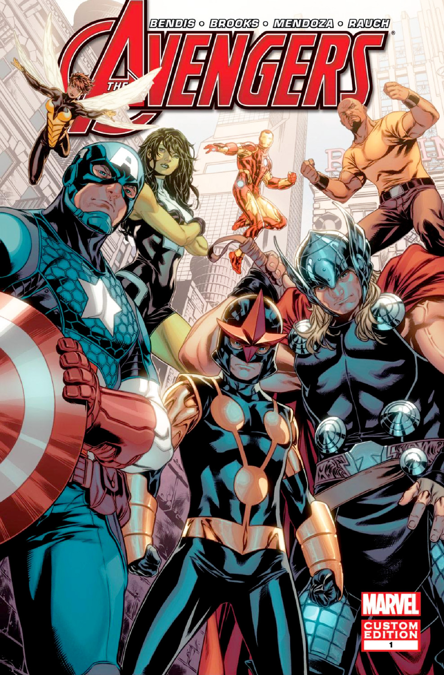 Avengers: Heroes Welcome Vol 1