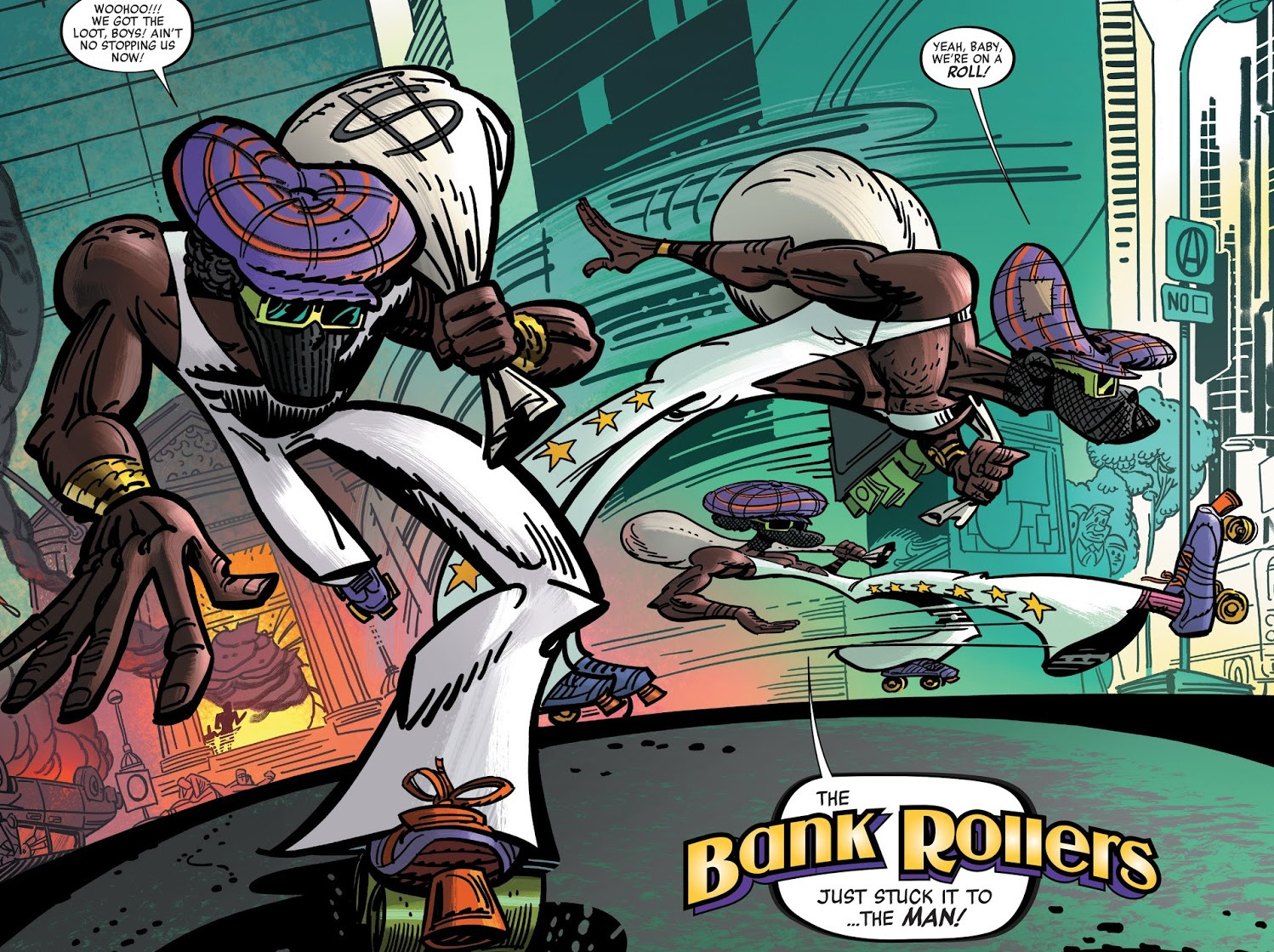 Bank Rollers (Earth-36121)